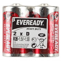Energizer Eveready R20 Heavy Duty NEW (24/192/4608)