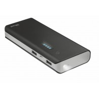 21149 Trust PRIMO POWERBANK 10000 - BLACK (30/1080)