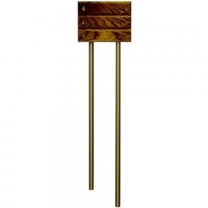 Звонок электрический Zamel гонг трубный тандем с накладкой Классик GRS-944 дуб темный