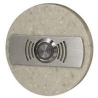 Кнопка звонка Zamel декоративная круглая (светлая) PDK 252