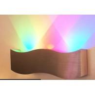 Cветильник светодиодный накладной Flesi 3*1,5W 220V 240*75*40 мм WAVE RGB WAVE RGB