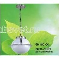 Светильник садово-парковый Flesi Хай Тек IP44 220V Е27 25*25*62 см белый NFD-OO51