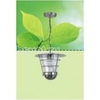 Светильник садово-парковый Flesi Хай Тек IP44 220V Е27 25,5*25,5*70 см прозрачный NFD-0314