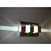 Cветильник светодиодный накладной Flesi 1*3W 220V 135*126*88 мм Nirit-s Stream-LED CW белый холодный Nirit-s Stream-LED CW