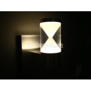 Cветильник светодиодный накладной Flesi 3*1,5W 220V 120*170*100 мм Time-US