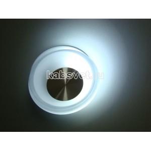 Cветильник светодиодный накладной Flesi 2*2,5W 220V 130*32 мм UFO CW белый холодный UFO CW