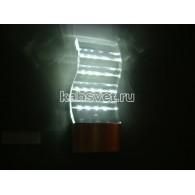 Cветильник светодиодный накладной Flesi 4*1,5W 220V 105*260*45 мм S CW