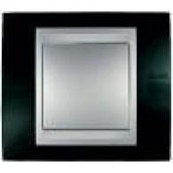 Рамка 3-ая горизонтальная Unica Top родий-алюминий MGU66.006.093