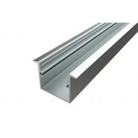 Профиль врезной алюминиевый Ledcraft LC-LPV-2537-2 Anod