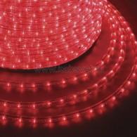 121-122-6 Дюралайт LED фиксинг (2W) - КРАСНЫЙ Ø13мм, 30LED/м, модуль 2м