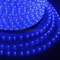 121-123-3 Дюралайт LED фиксинг (2W) - СИНИЙ Ø10мм, 24LED/м, модуль 2м (без комплекта подключения)