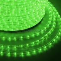 121-124-4 Дюралайт LED фиксинг (2W) - ЗЕЛЕНЫЙ Эконом Ø13мм, 24LED/м, модуль 2м (без комплекта подключения)