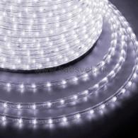 121-125-3 Дюралайт LED фиксинг (2W) - БЕЛЫЙ Ø10мм, 24LED/м, модуль 2м (без комплекта подключения)