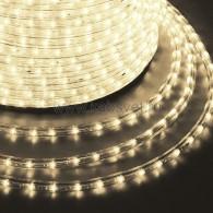 121-126-4 Дюралайт LED фиксинг (2W) - ТЕПЛЫЙ БЕЛЫЙ Эконом Ø13мм, 24LED/м, модуль 2м (без комплекта подключения)