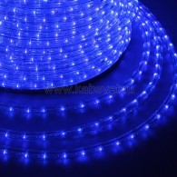 121-323-4 Дюралайт LED чейзинг (3W) - СИНИЙ Эконом Ø13мм, 24LED/м, модуль 4м (без комплекта подключения)