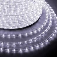 121-325-4 Дюралайт LED чейзинг (3W) - БЕЛЫЙ Эконом Ø13мм, 24LED/м, модуль 4м (без комплекта подключения)