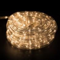 121-326-14 Набор Дюралайта LED чейзинг (3W) - ТЕПЛЫЙ БЕЛЫЙ, 24 LED/м, 14м в наборе, контроллер НЕ в комплекте