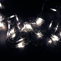 217-115 СЕТЬ 2x1,5м, черный КАУЧУК, 288 LED БЕЛЫЕ, соединяется