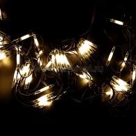 217-125 СЕТЬ 2x3м, черный КАУЧУК, 432 LED БЕЛЫЕ, соединяется