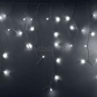 "255-036 АЙСИКЛ (бахрома), 2,4 х 0,6 м, белый ПВХ, мерцающий ""Flashing"", 88 LED БЕЛЫЕ предлагаем 255-034"
