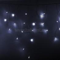 255-145 АЙСИКЛ (бахрома), 4,8 х 0,6 м, прозрачный ПВХ, 176 LED БЕЛЫЕ предлагаем 255-135