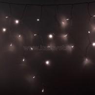 255-146 АЙСИКЛ (бахрома), 4,8 х 0,6 м, прозрачный ПВХ, 176 LED ТЕПЛЫЙ БЕЛЫЙ предлагаем 255-256