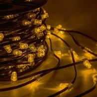 325-121 Клип лайт 12В, 100м, шаг 150 мм, 665 LED Желтые, с трансформатором