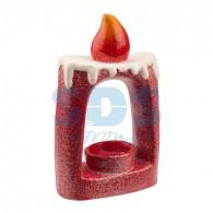 501-074 Керамический подсвечник «Свечка» 12.5х6х19.3 см