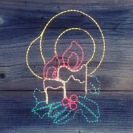 """501-320 Фигура """"Две свечи"""", размер 100*75 см"""