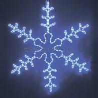 """501-332 Фигура световая """"Большая Снежинка"""" синяя, 95*95 LED"""