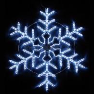 "501-338 Фигура световая ""Снежинка"" мерцающая LED 95*95 см(Flashing)"