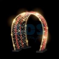 501-448 Декоративная арка LUX 250 см ( на заказ)