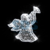 501-457 Декоративная 3D фигура Ангел 120 см ( на заказ)