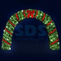 501-469 Декоративная арка Рождество 500 см ( на заказ)
