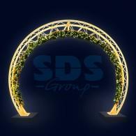 501-475 Декоративная арка Кольцо 300 см ( на заказ)