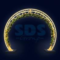501-476 Декоративная арка Кольцо 400 см ( на заказ)