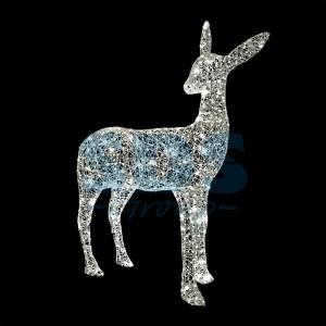 Декоративная 3D фигура Косуля 120 см (цвет на выбор) 501-523 (на заказ)