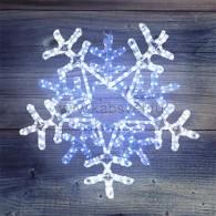 """501-531 Фигура световая """"Снежинка"""" LED c контр. белая/синяя 60*60см"""