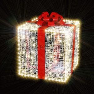 Декоративная 3D фигура Подарок-1 100 см (цвет на выбор) 501-542 (на заказ)