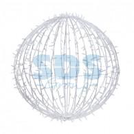 501-624 Шар светодиодный 230V, диаметр 90 см, 320 светодиодов, цвет белый