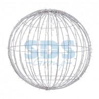 501-625 Шар светодиодный 230V, диаметр 120 см, 600 светодиодов, цвет белый