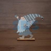 504-004 Деревянная фигурка «Гномик» 17х4х15 см