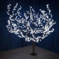 "531-105 Светодиодное дерево ""Сакура"", H=1,5м, D=1.8м, 864 диода, БЕЛЫЙ"