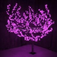 "531-106 Светодиодное дерево ""Сакура"", H=1,5м, D=1.8м, 864 диода, ФИОЛЕТОВЫЙ"