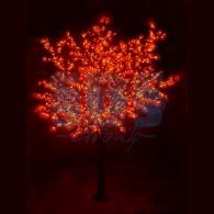 "531-232 Светодиодное дерево ""Сакура"", H=3,6м, D=3.0м, 6921 диод, КРАСНЫЙ"
