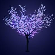 """531-233 Светодиодное дерево """"Сакура"""", H=3,6м, D=3.0м, 6921 диод, СИНИЙ"""