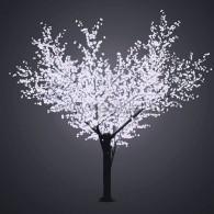 """531-235 Светодиодное дерево """"Сакура"""", H=3.6м, D=3.0м, 6921 диод, БЕЛЫЙ - поставка под заказ"""