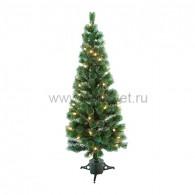 533-236 Новогодняя Ель с шишками 210 см фибро-оптика ТЕПЛЫЙ БЕЛЫЙ цвет