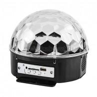 """601-257 Светодиодная система """"Диско-шар"""" с пультом ДУ и Bluetooth, 230 В"""