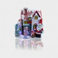 505-010 Керамическая фигурка «Рождественский дом» 37.5х20х42.5 см